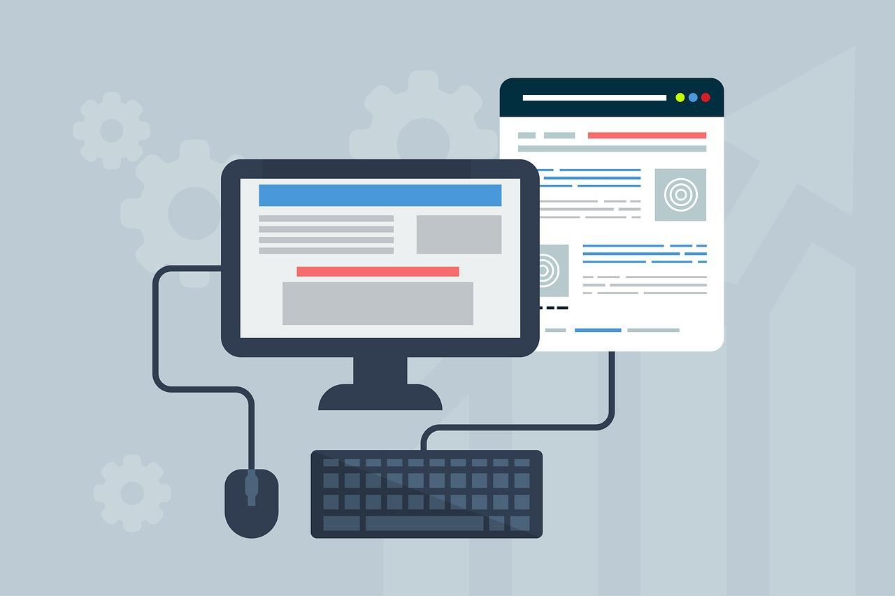 Site Internet vitrine à Caissargues